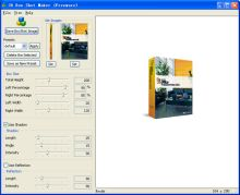 Screenshot of 3D Box Shot Maker